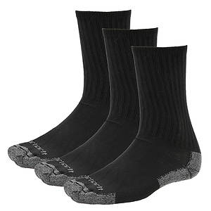 Carhartt Men's All Season 3-Pack Cotton Crew Socks