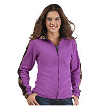 Women's Camo Fleece Jacket