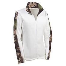 Women's Camo Fleece Jacket