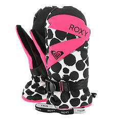 Roxy Snow Girls' Jetty Girl Mitt