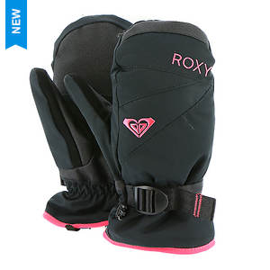 Roxy Snow Girls' Jetty Girl Solid Mitt