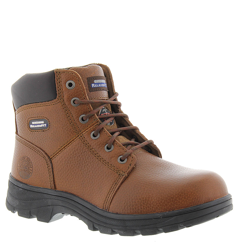 cb13826d4f1 Skechers Work Workshire 77009 Men s Brown Boot 11 M from  84.95 - Nextag