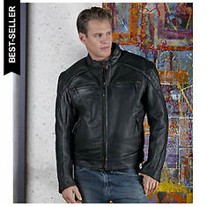 Milwaukee Men's Warrior Motorcycle Jacket