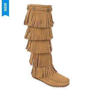 Minnetonka 5-Layer Fringe Boot (Women's)