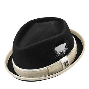 Stacy Adams Men's Diamond Crown Fedora