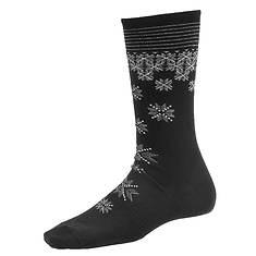 Smartwool Shimmering Snow Crew Wool Socks (Women's)