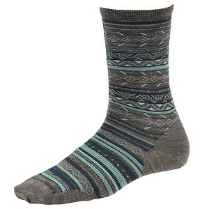 Smartwool Ethno Graphic Crew Socks (Women's)