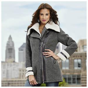 Boucle Morgan Wool Coat