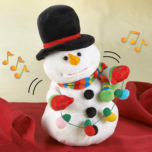 Musical Dancing Snowman