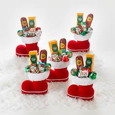 Five Santa Snackers