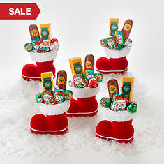 Five Santa Snackers