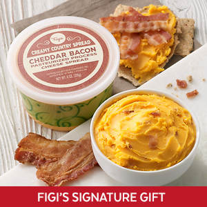 Creamy Country Cheese Spread - Bacon Cheddar