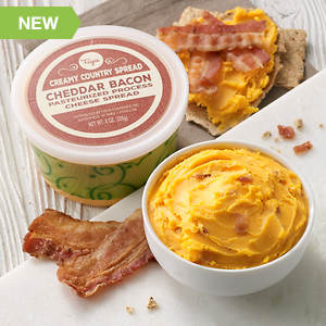 Creamy Country Cheese Spread - Bacon Cheddar