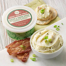 Creamy Country Cheese Spread - Green Onion Bacon
