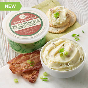 Creamy Country Cheese Spread - Green Onion Bacon