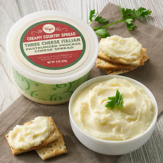 Creamy Country Cheese Spread - Three Cheese Itailian