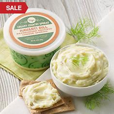 Creamy Country Cheese Spread - Havarti Dill