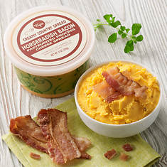 Creamy Country Cheese Spread - Horseradish Bacon