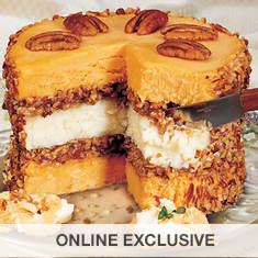 Honey 'n Pecan Cheese Torte