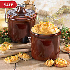 Kave Kure Cheese Crock - Designed