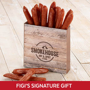 Smokehouse Beef Sticks - Hot 'n Spicy