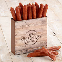 Smokehouse Beef Sticks - Beef