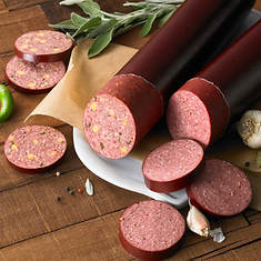 Big and Super Big Beef Sausage - CheddarJalapeno
