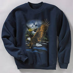 Wildlife Sweatshirt - Eagle