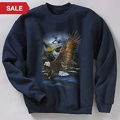 Wildlife Sweatshirt - Eagle