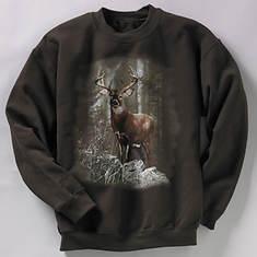 Wildlife Sweatshirt - Deer