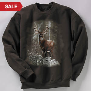 Wildlife Sweatshirt - Deer