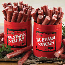 Venison & Buffalo Sticks - Venison