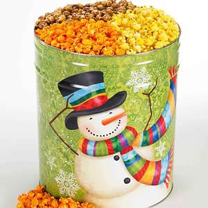 Snowmen Popcorn Trio