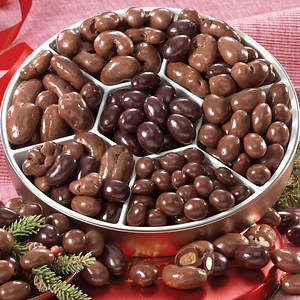 Chocolate Nut Teasers Bridge Mix
