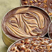 Creamy Country Fudge - Chocolate Peanut Butter