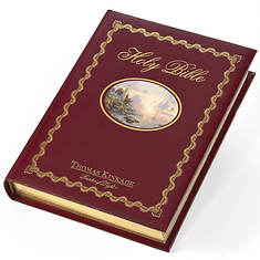 Thomas Kinkade Family Bible