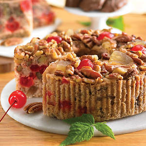No Sugar Added Grandma's Fruitcake