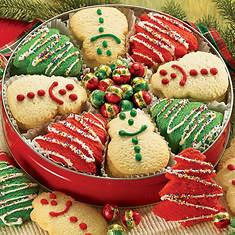 Holiday Delight Sugar Cookies