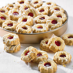 Raspberry Shortbread Cookies