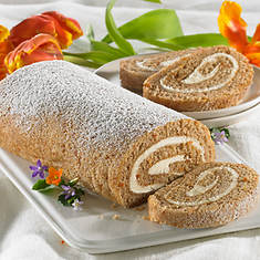 Creamy Cake Roll - Carrot Cake