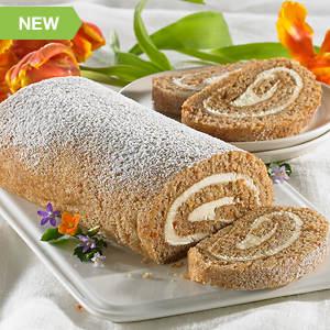 Creamy Cake Roll - Carrot Cake