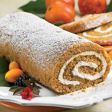 Creamy Cake Roll - Pumpkin