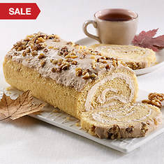 Creamy Cake Roll - Maple Walnut