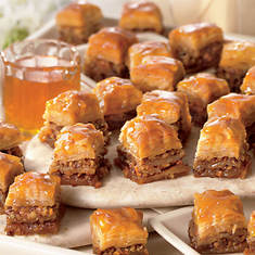 Traditional Baklava Squares