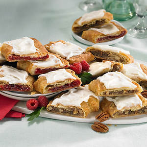 Danish Kringle - Pecan/Raspberry