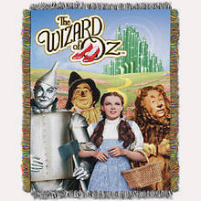 Tapestry Throw - Wizard of Oz