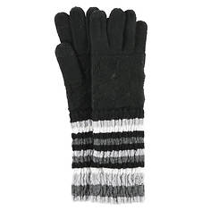 Smartwool Striped Chevron Glove Wool (Women's)