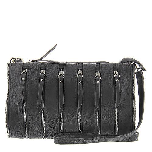 SR Squared By Sondra Roberts Multi-Zipper Clutch