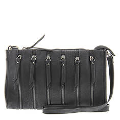 SR Squared By Sondra Roberts Multi-Zipper Clutch