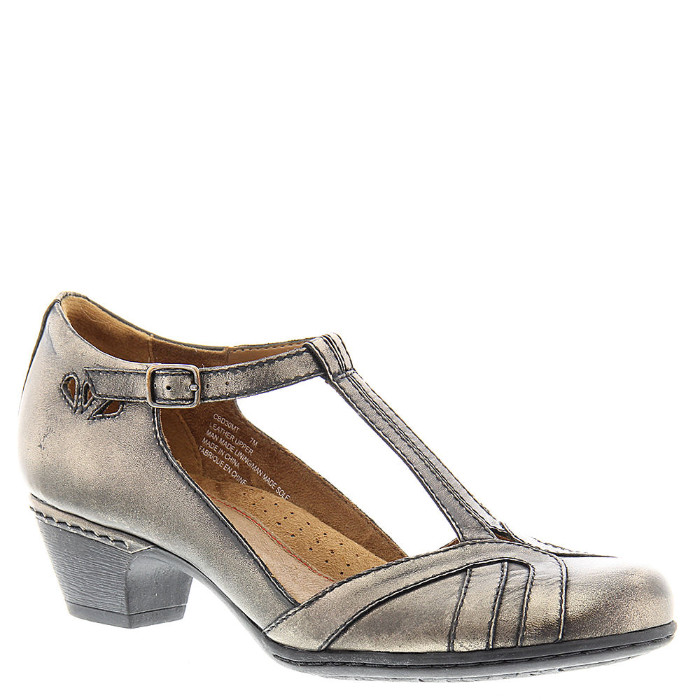 70s Shoes, Platforms, Boots, Heels | 1970s Shoes Rockport Cobb Hill Collection Angelina 1 Womens Metallic Pump 9.5 W $119.95 AT vintagedancer.com